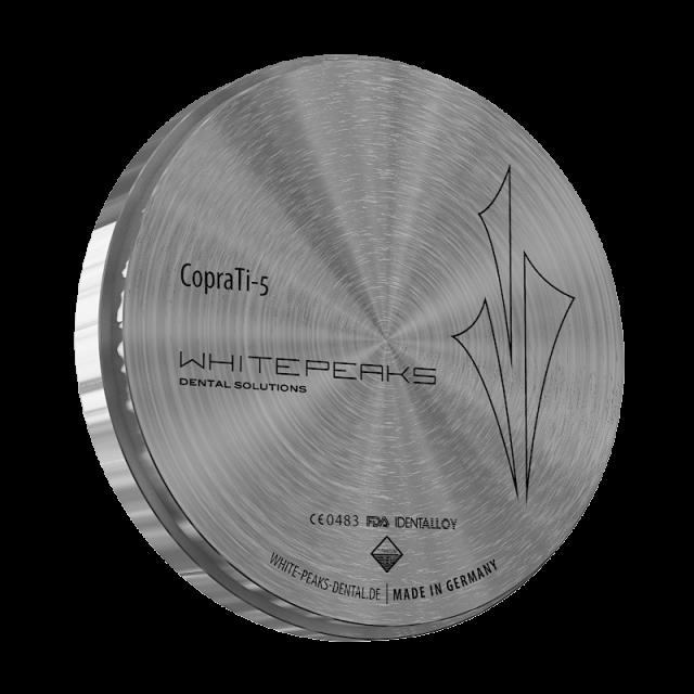 CopraTi-5 Ø 98 x 20 mm black